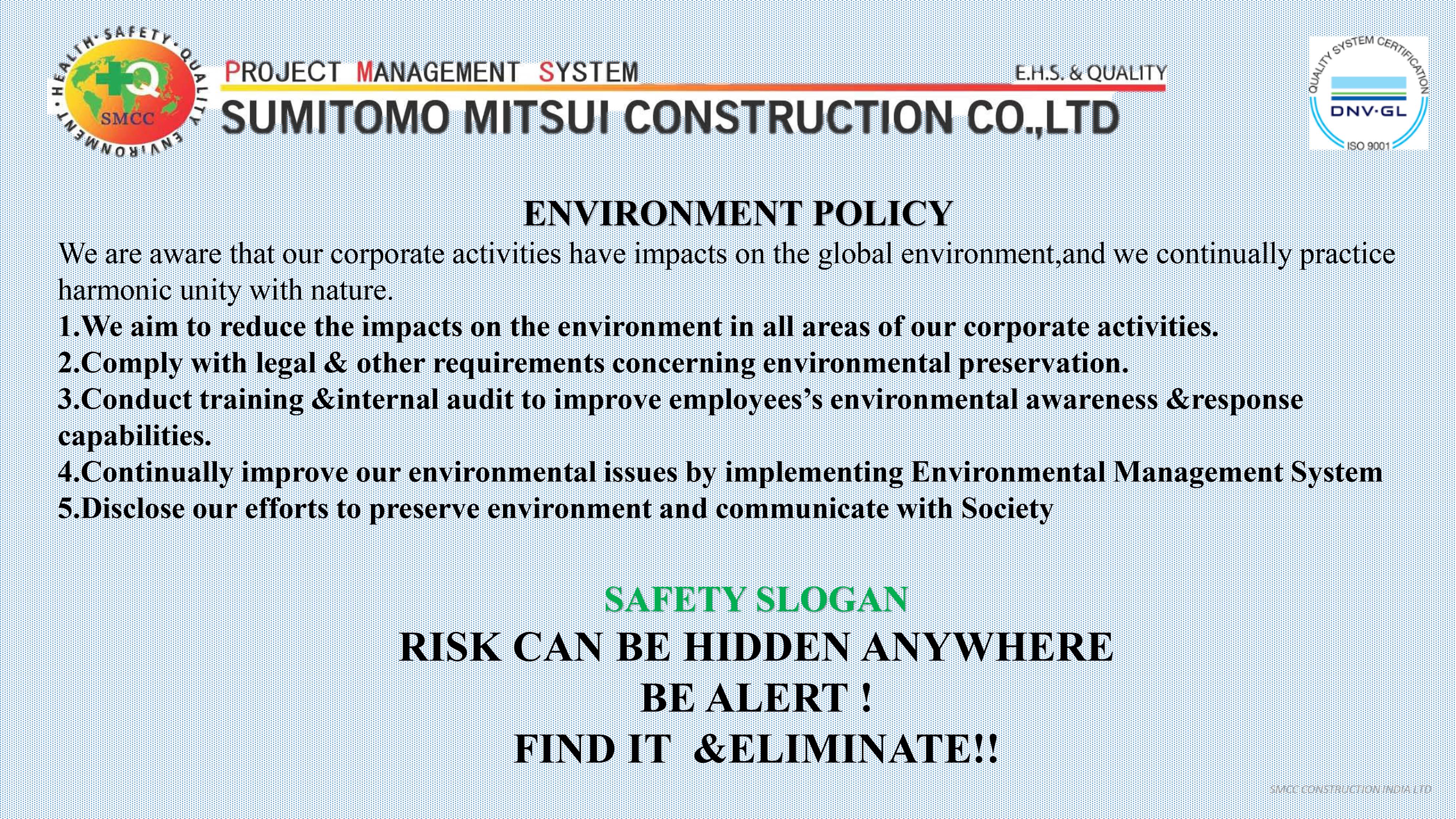 SMCC Construction PMS